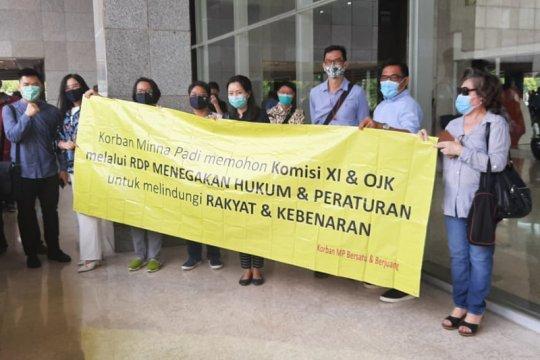 Nasabah Minna Padi harap DPR bantu kawal proses pencairan dana