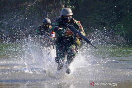 Latihan Satuan Lanjutan Korps Marinir