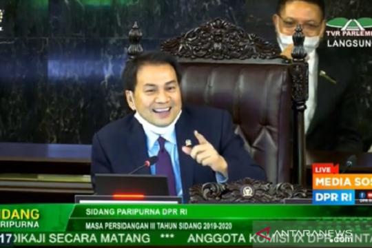 Rapat Paripurna DPR setujui RUU Ciptaker menjadi UU