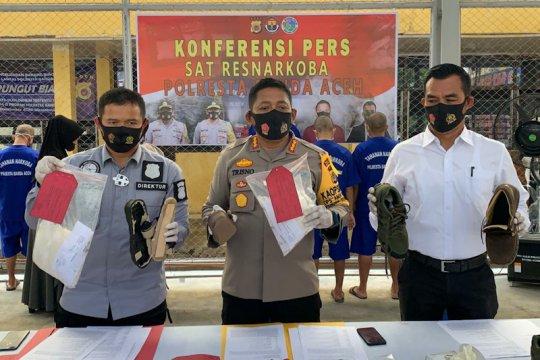 Polisi tangkap tiga wanita dan lima pria jaringan narkoba di Aceh