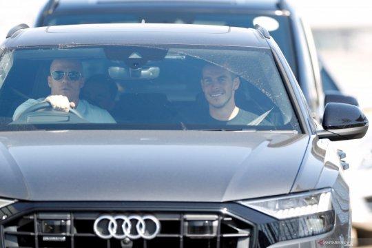 Gareth Bale sudah tiba di London jelang transfernya ke Tottenham