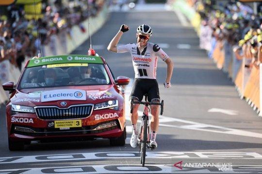 Kragh Andersen jadi jawara etape 19 Tour de France