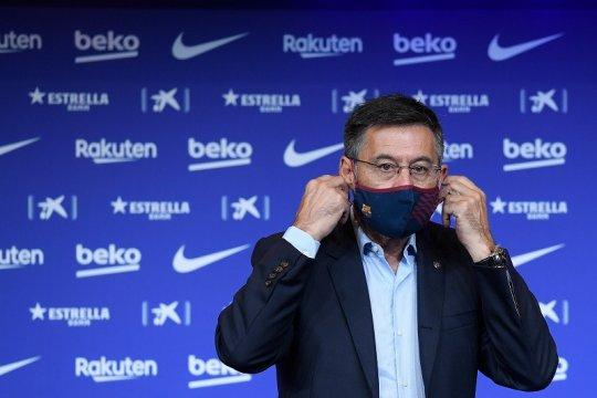 Bartomeu dibebaskan polisi Katalunya setelah ditahan semalam