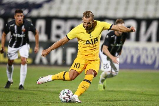 Tottenham susah payah lanjut ke putaran ketiga kualifikasi Liga Europa