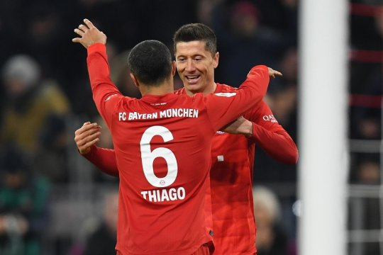 """Lewandowski lepas kepergian Thiago si """"pesulap"""""""