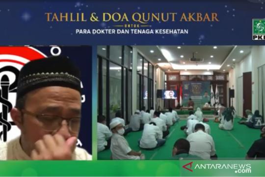 """Air mata Ketua IDI """"pecah"""" saat tahlil digelar DPP PKB"""