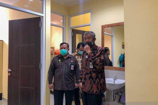 Penempatan pasien di selter COVID-19 Yogyakarta dilakukan selektif