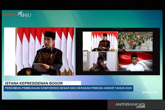 Presiden Jokowi: GP Ansor mampu jadi perekat di tengah perbedaan