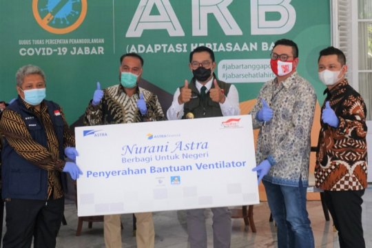 Astra Financial serahkan tiga ventilator untuk masyarakat Jawa Barat