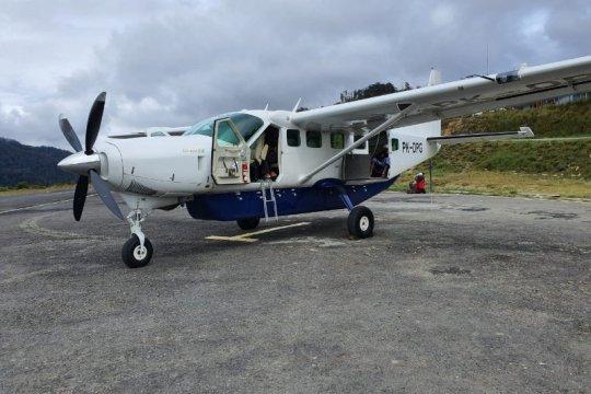 Pesawat Dabi Air ditembak KKB di Bandara Bilogai Sugapa Papua
