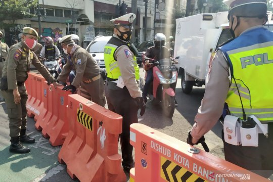 Wali Kota Bandung: Lima ruas jalan ditutup pada sore hari