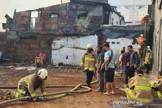 Camat Senen sebut korban kebakaran di Bungur 40 kepala keluarga