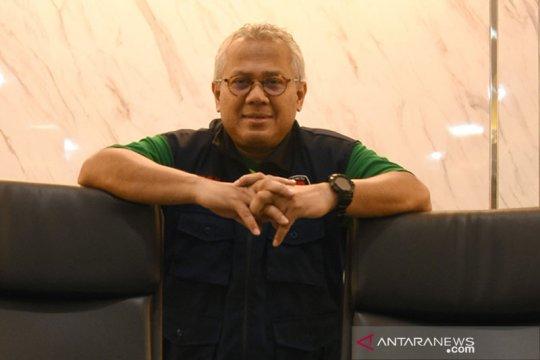 Ketua KPU Arief Budiman positif COVID-19