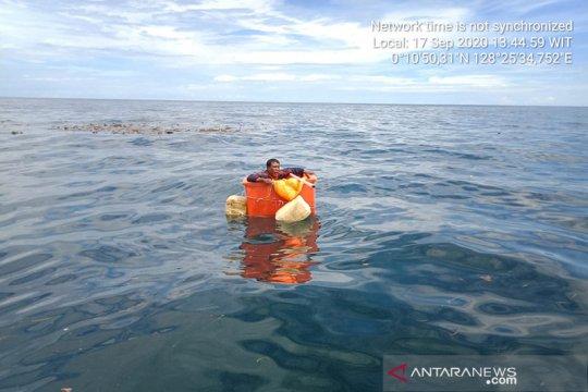 Basarnas temukan nelayan hilang di laut Halmahera