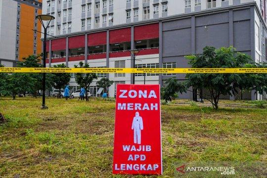 Kasus baru COVID-19 di Jakarta sebanyak 1.403 pada Jumat