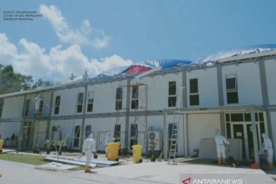 RSKI Pulau Galang rawat 338 pasien terkonfirmasi positif COVID-19