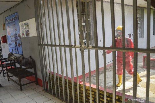 Tahanan terkonfirmasi positif COVID-19