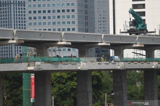 Adhi Karya catat progres LRT Jabodebek capai 77 persen