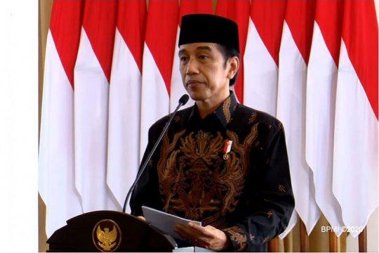 Presiden ajak GP Ansor ringankan beban rakyat di masa pandemi COVID-19