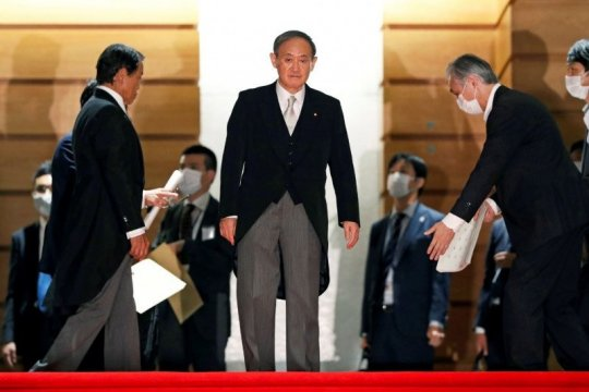 Indonesia sambut kunjungan PM Jepang Yoshihide Suga