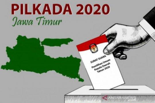KPU Jatim evaluasi penerapan protokol kesehatan Pilkada 2020