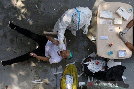 Infeksi corona di India turun ke level terendah sejak Juli