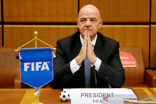 Presiden FIFA prihatin dengan penundaan kualifikasi Piala Dunia