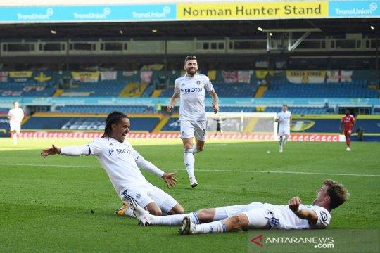 Leeds raih kemenangan perdana, tundukkan Fulham 4-3
