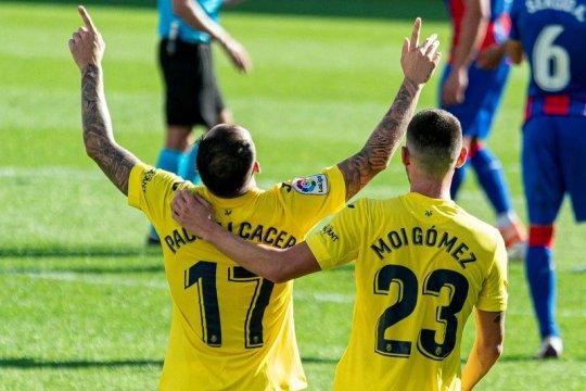 Villarreal amankan tiga poin kontra Eibar