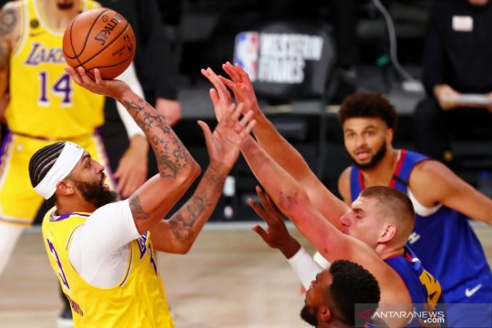 NBA: LA Lakers kalahkan Denver Nuggets 126 - 114