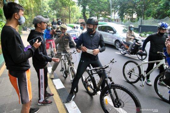 Penutupan sementara pedestarian Kebun Raya Bogor
