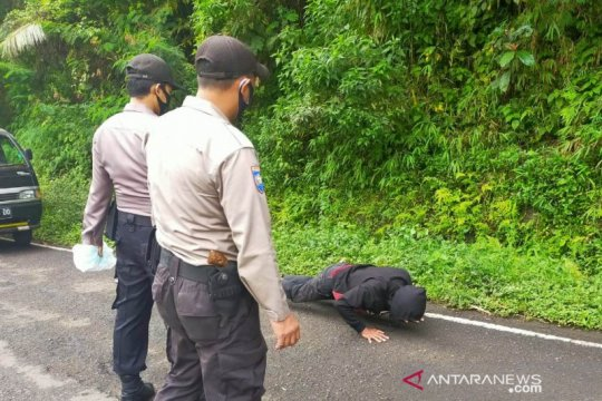Seratusan orang terjaring dalam razia makser di Cianjur