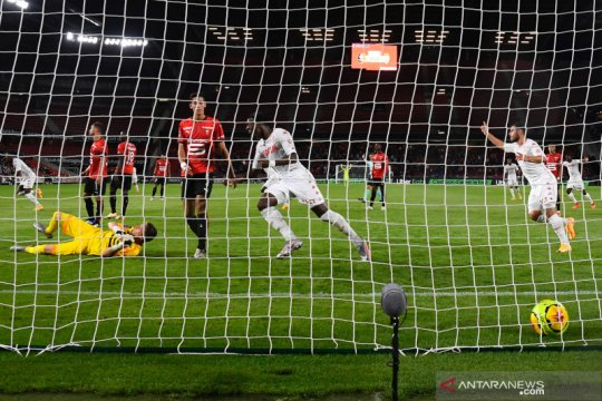 Monaco menyerah 1-2 kepada Rennes