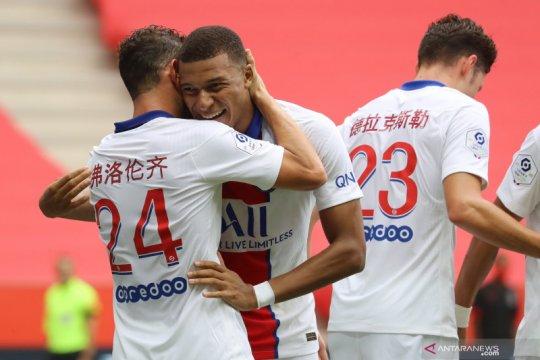 PSG hajar tuan rumah Nice 3-0
