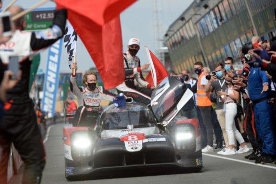 Nakajima bawa Toyota raih hattrick Le Mans 24 Hours