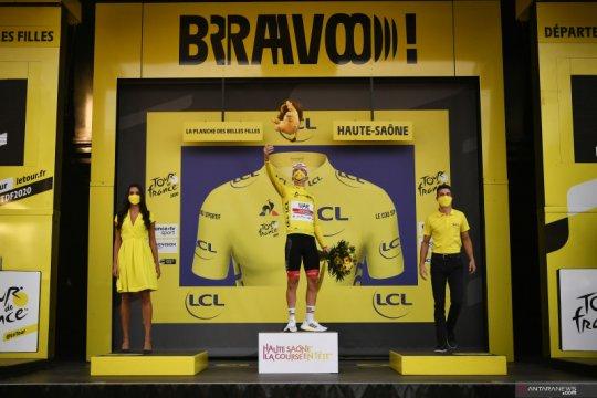 Klasemen sementara Tour de France setelah etape ke-20