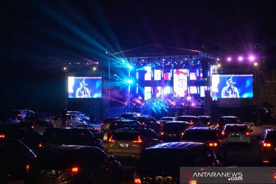 Konser musik drive-in pertama di Yogyakarta