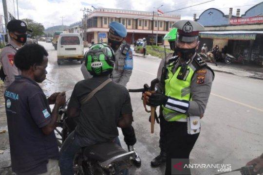Polisi di Jayapura sita lagi 36 sepeda motor diduga hasil curian