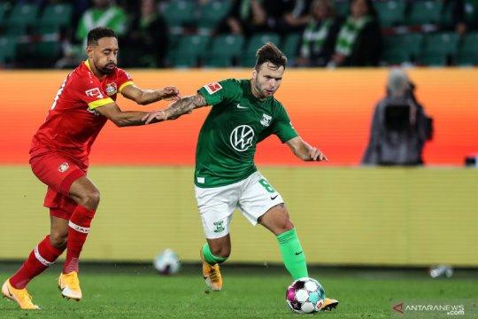 Wolfsburg kontra Leverkusen berakhir imbang tanpa gol