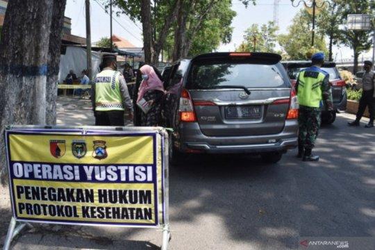 67.086 orang terjaring operasi yustisi di Jawa Timur selama sepekan