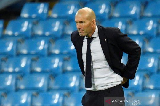 Lini serang tumpul, Zidane bela keputusannya tidak turunkan Luka Jovic