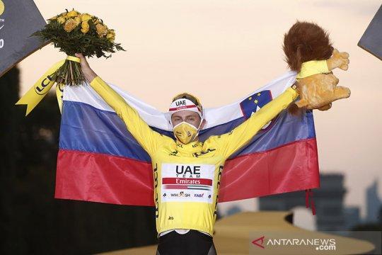 Tadej Pogacar juara Tour de France 2020