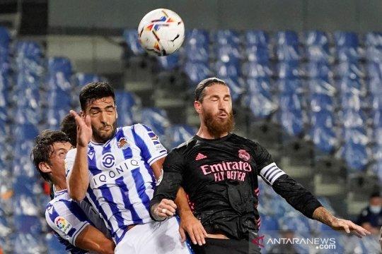 Real Madrid mulai musim dengan skor nirgol di Sociedad
