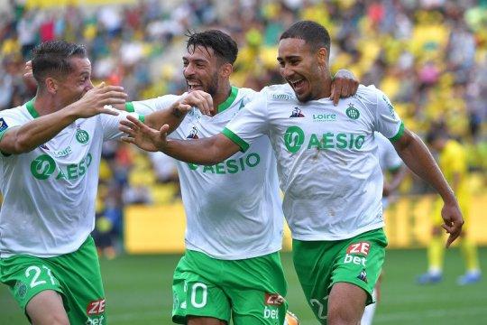 Klasemen Liga Prancis: Saint-Etienne ke puncak lagi, PSG mulai naik