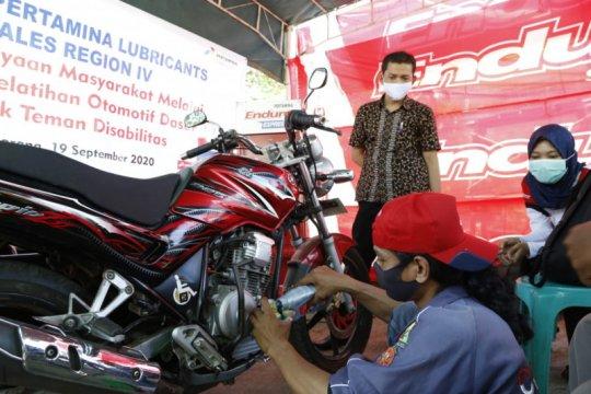 PT Pertamina Lubricants beri pelatihan kepada kaum difabel di Semarang