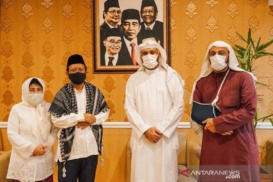 Menko Polhukam terima kunjungan Syekh Ali Jaber