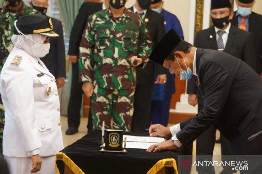 Gubernur Kepri lantik Rahma sebagai Wali Kota Tanjungpinang definitif