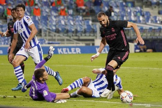 Liga Spanyol:  Sociedad  tahan Madrid tanpa gol