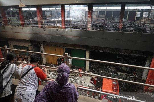 Kebakaran landa Pasar Wage Purwokerto