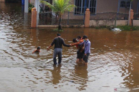 Banjir pasang keling di Kota Dumai